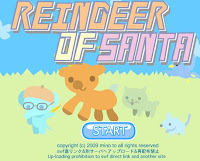 Reindeer of Santa walkthrough