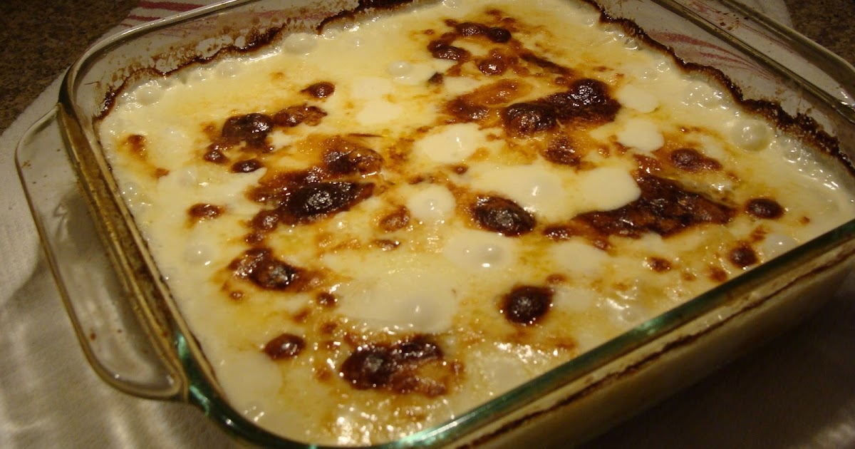 Bella Lately: Scalloped Yukon Gold Potato Gratin