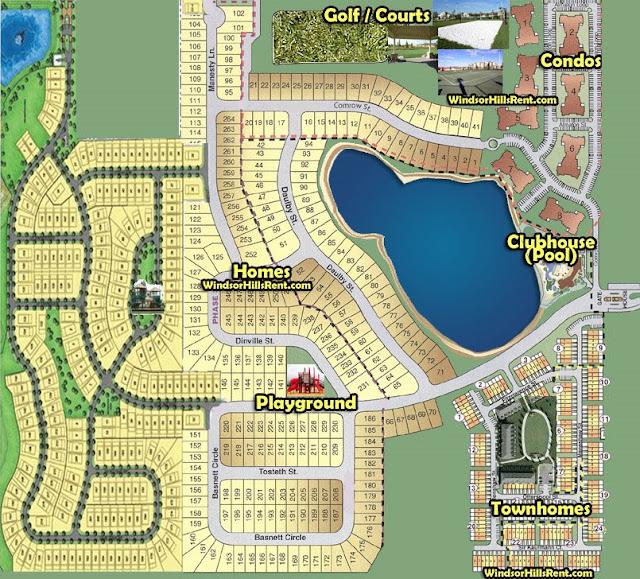 Windsor Hills Resort Windsor Hills Resort Map - Windsor map