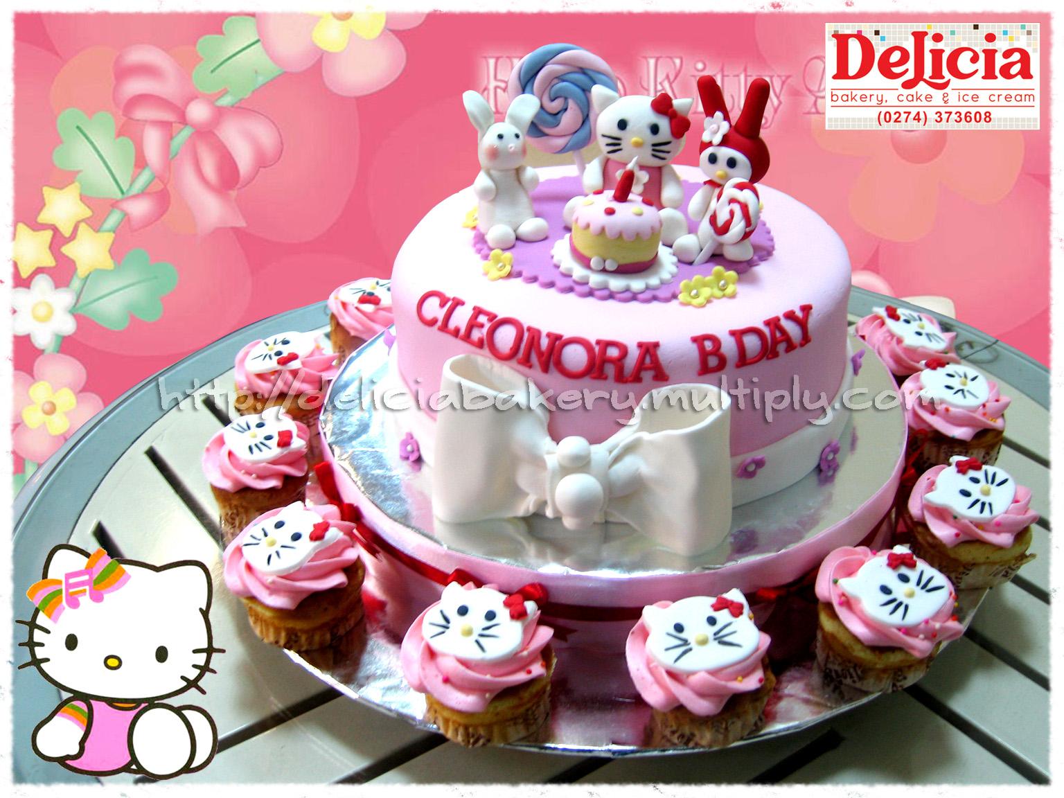 Delicia Bakery Ice Cream Yogyakarta Childern Set Cake N Cupcake