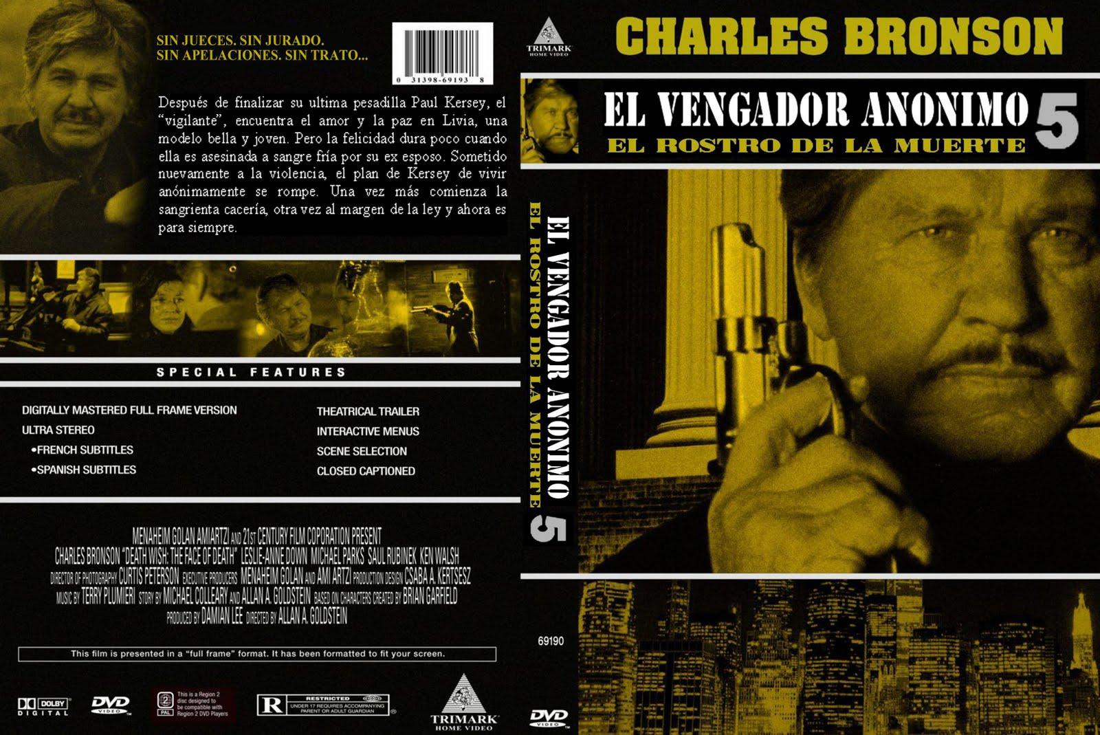 Peliculas en dvd: Vengador anonimo 4 y 5