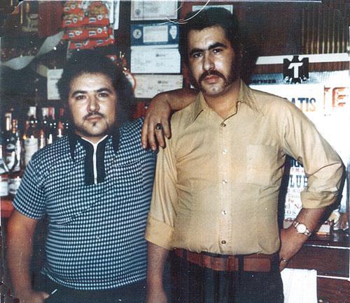 """Rodolfo González alias """"El Becerro"""" y Alberto González alias """"El Cejas"""" q.e.p.d. los dos."""