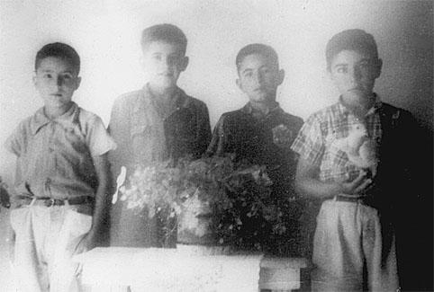 Mis carnales Rafael, Filemon, Alberto y Rodolfo.