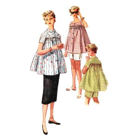 Building a Vintage Wardrobe: Retro Maternity - Va-Voom Vintage ...