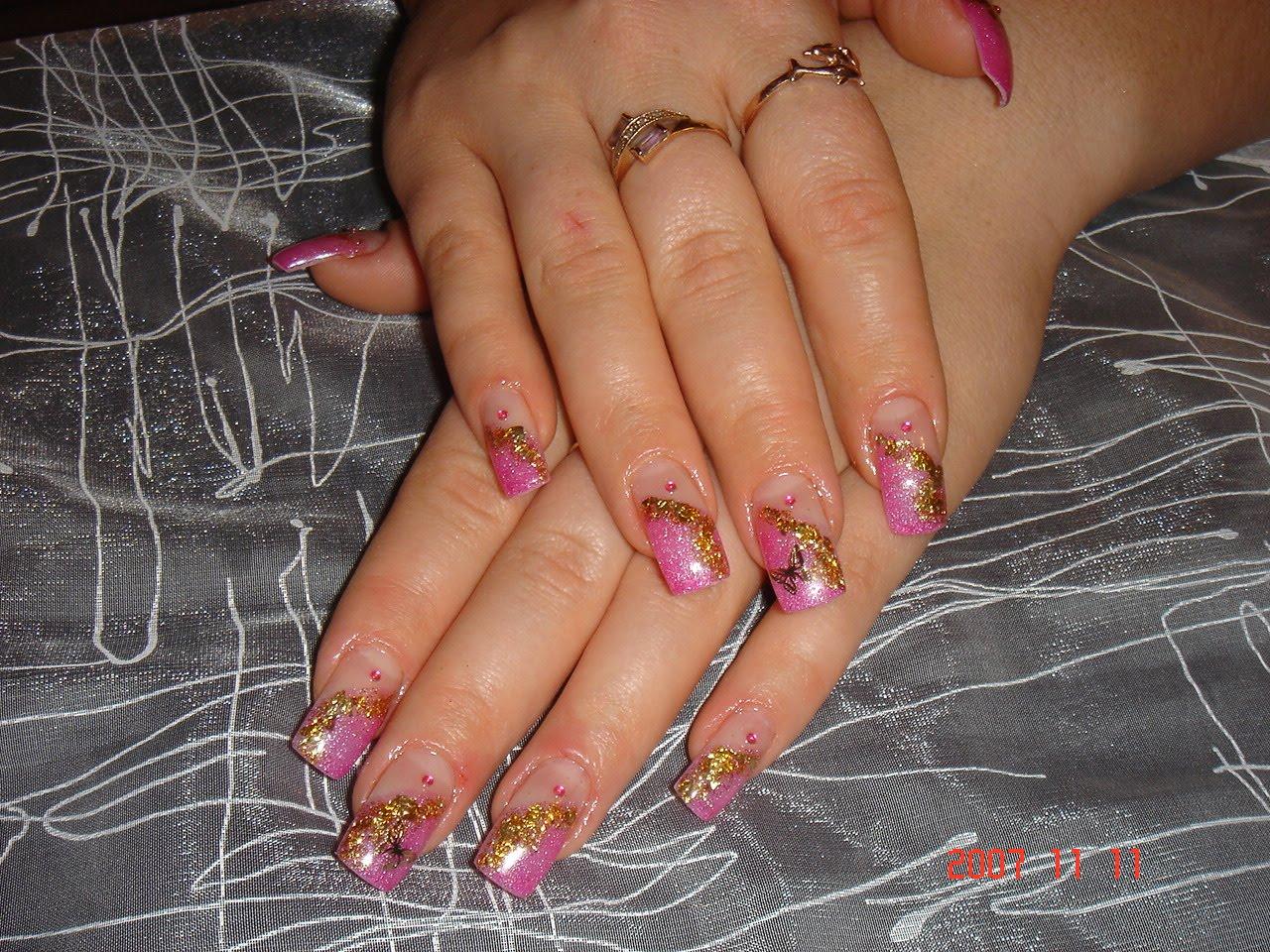 Фото и рисунки ногтей гелевые