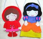Si Kudung Merah dan Putri Salju