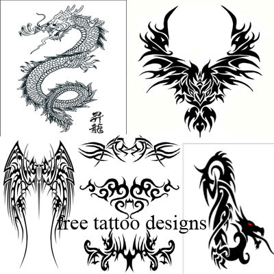 Label: Dragon Tattoos Japanese