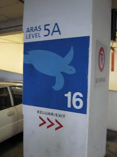 Crazy Carpark signages