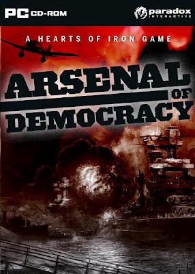 Categoria estrategia, Capa Download Arsenal of Democracy (PC)