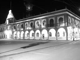 El palacio municipal de Ajalpan