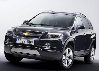 The Chevrolet Captiva
