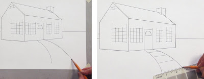 Mara mattia art lessson 16 linear perspective continued for Fenster 3d zeichnen