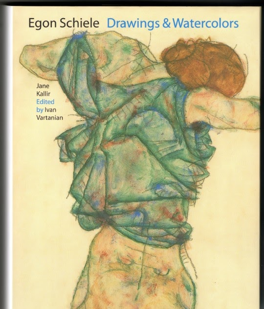 Watercolors And Words Egon Schiele Book