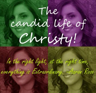 The candid life of Christy!