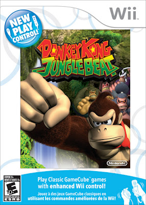 Caratula de Donkey Kong Jungle Beat