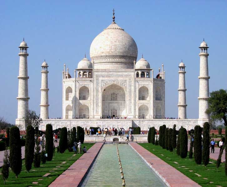 Wonders of the world-Taj Mahal