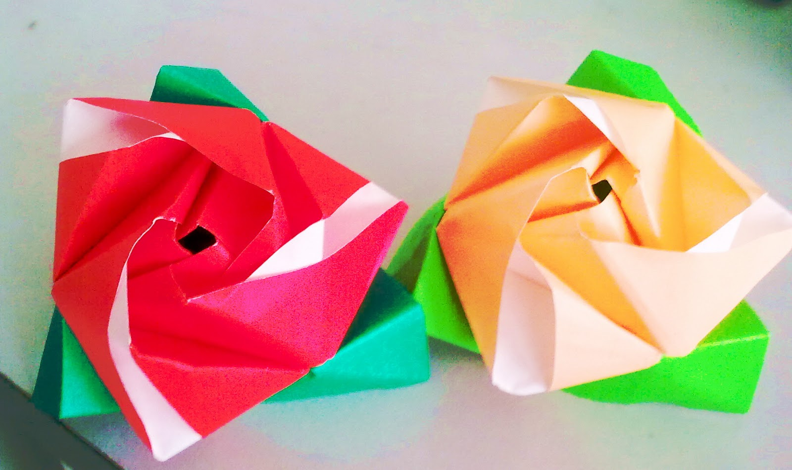 paper folding crafts step by step pdf