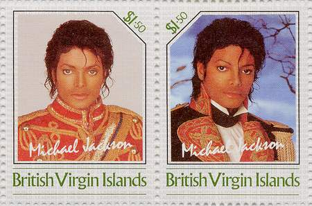 Michael Jackson Commemorative Postage Stamps
