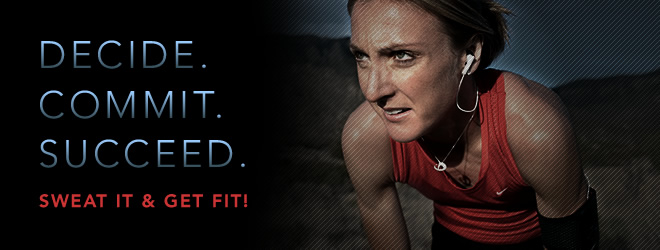 Sweat It & Get Fit!