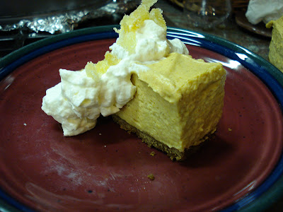 Melissa Cooks Gourmet: Pumpkin Chiffon Pie with Gingersnap ...