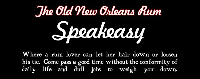 The Old New Orleans Rum Speakeasy
