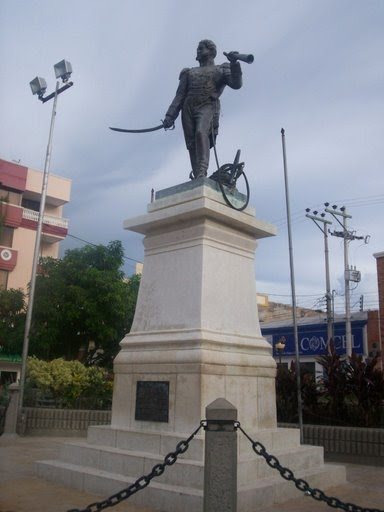 Homenaje al Almirante Jose Prudencio Padilla