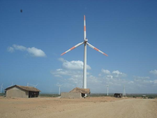 Parque eolico en la alta guajira