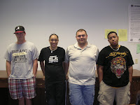 Tyler Smith, Whitney Jackson, James Dumas and Rennard Lambert