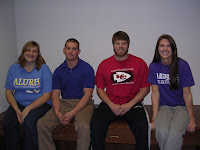 Mary Travis, Josh Burks, Colin Quina and Staci Williams