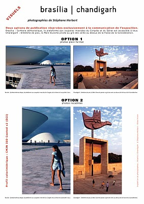 EXPOSITION BRASILIA | CHANDIGARH -photographies de Stéphane Herbert
