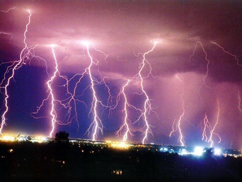 Accumulation Of Charges Leading To Lightning. About Lightning