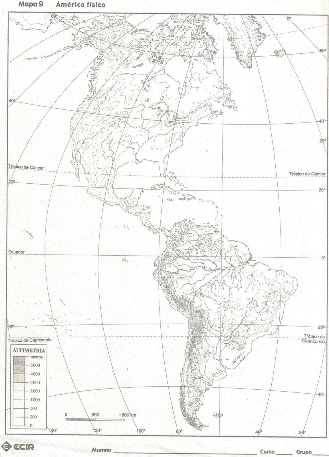 Mapa Fisico Mudo De Oceania Para Imprimir En A4