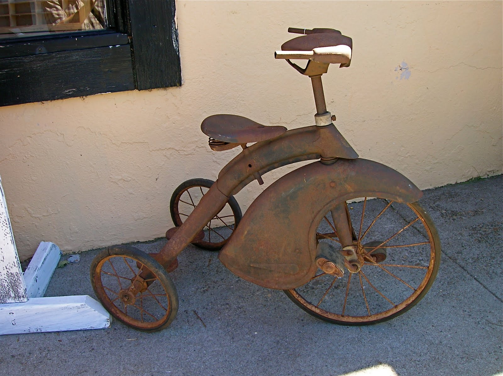 Makers Of Antique Tricycles : Do right fear not junior toy corp tricycle