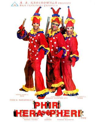 hera pheri is a bollywood movie and the sequel to the 2000 hit hera    International Hera Pheri