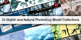 Stylish and Natural Photoshop Brush Collections