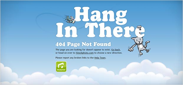 Creative 404 Error Pages Design