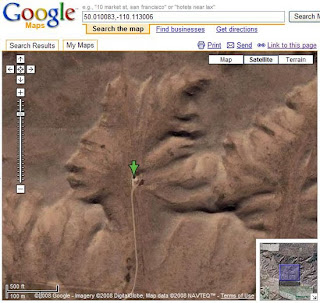 Unusual Google Earth Photos