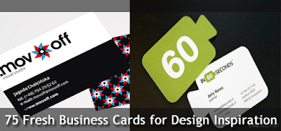 Fresh Business Cards for Design Inspiration