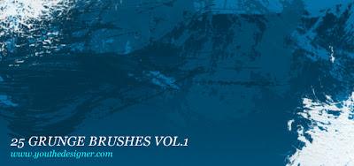 Free Photoshop Grunge Brushes