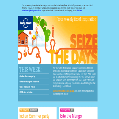 Email newsletter designs templates examples tutorials for Newsletter design inspiration