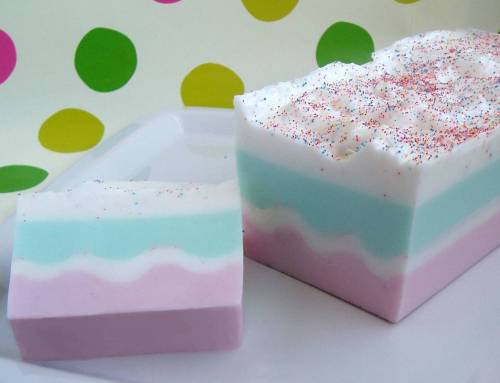 Cup Cake Soap Designs
