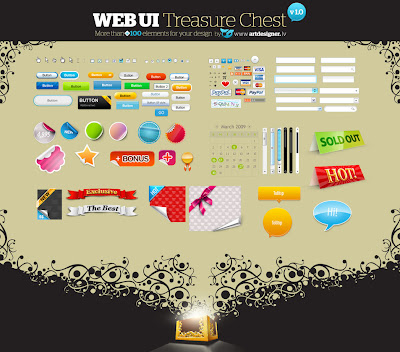 WEB UI Treasure Chest