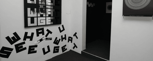 what you see is what you get typography