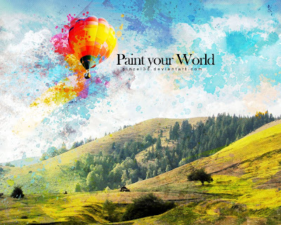 Paint your world wallpaper