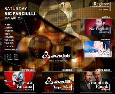 Showcase Of Music Night Clubs Web Designs