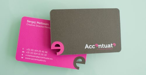 Accentuate Business Cards