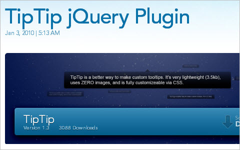 Useful jQuery Techniques and Plugins