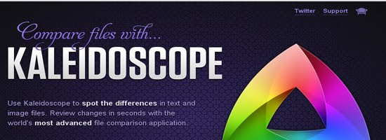 Kaleidoscope web design