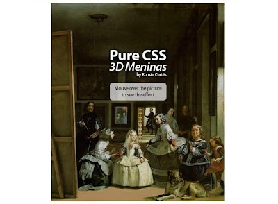 CSS 3D Meninas