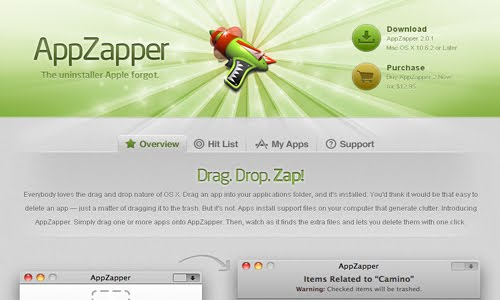 AppZapper web design